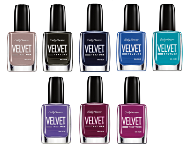Preview Sally Hansen Velvet Collection - Limited Edition (LE) - Januar 2015