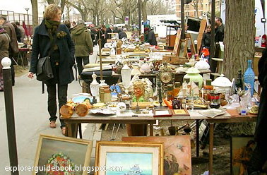 Porte de Vanves Flea Market