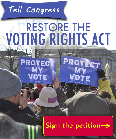 Restore Voting Rights