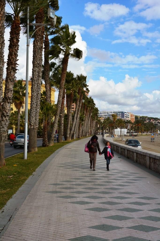 Malagueta Beach promenade