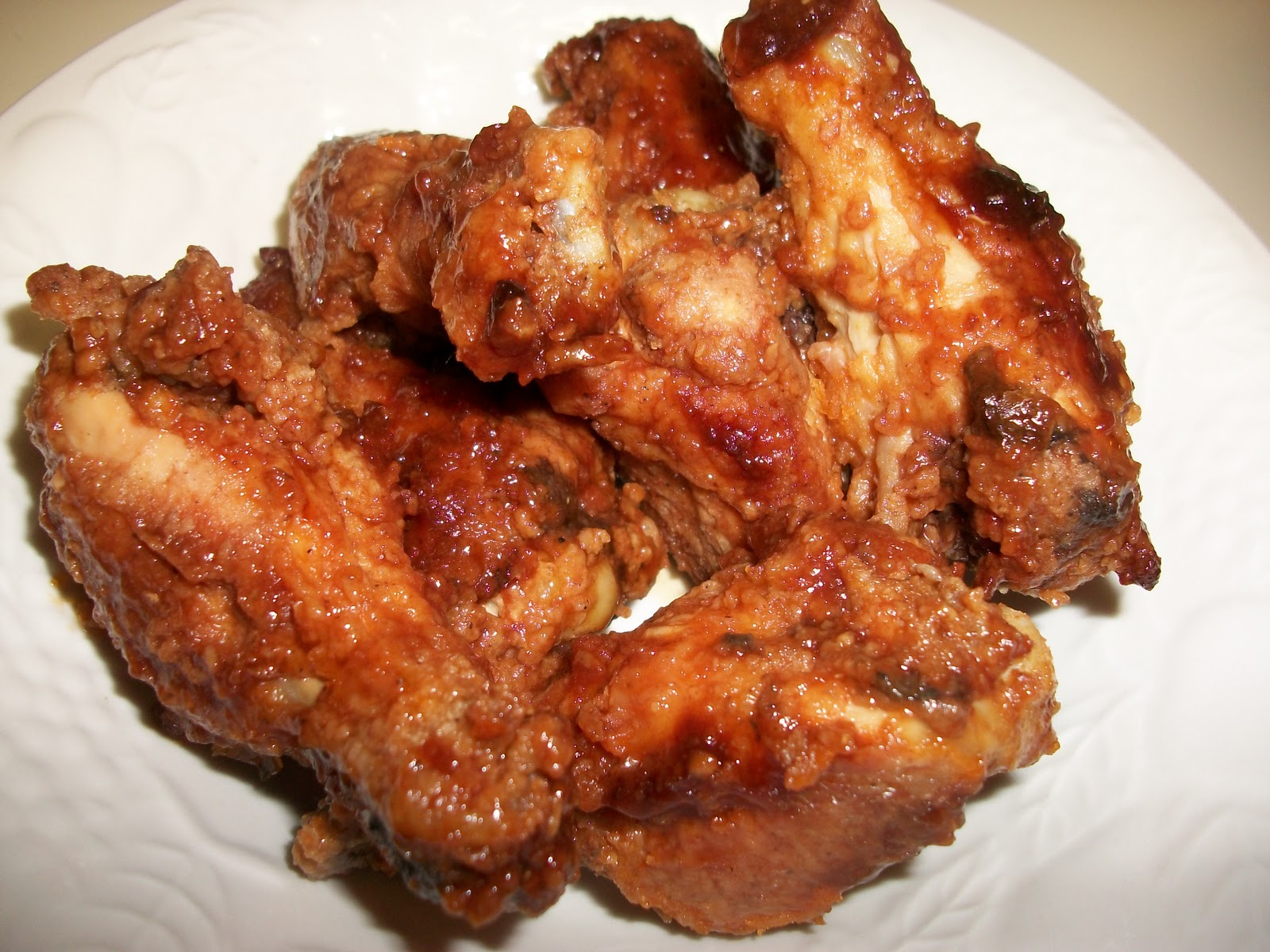 glazed chicken wings recipes dishmaps ginger and honey chicken wings ...