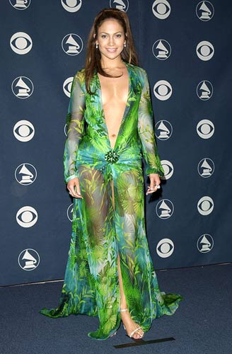 Jennifer Lopez Grammy Dress Makes Comeback