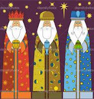 los tres reyes magos en inglés