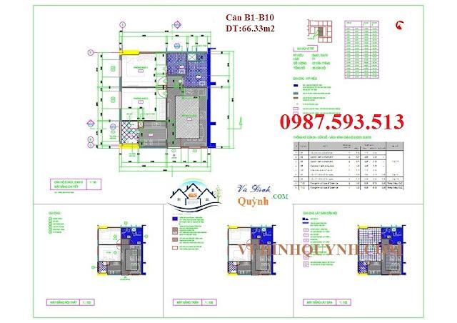 Căn B1-B10 dự án 122 Vĩnh Tuy