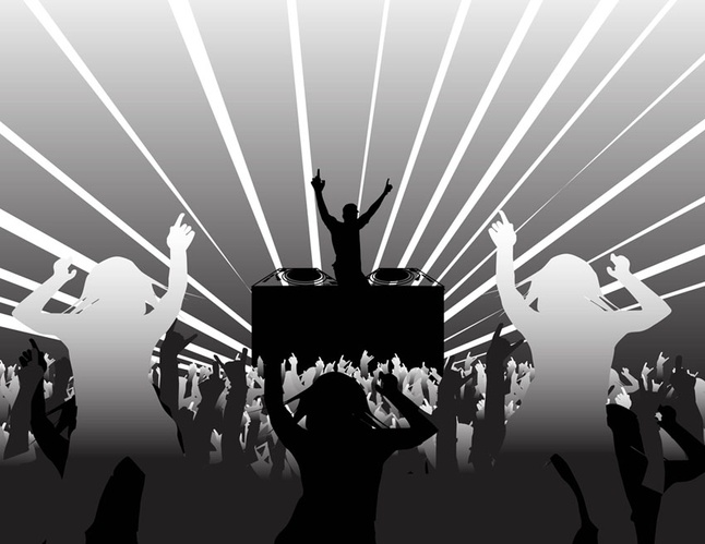 30+ Free Party Concert Music Vector Art Graphics