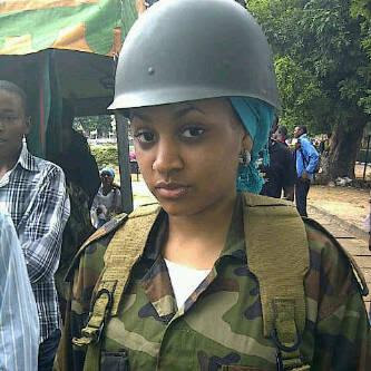 Is This The Prettiest Soilder In Nigeria 1