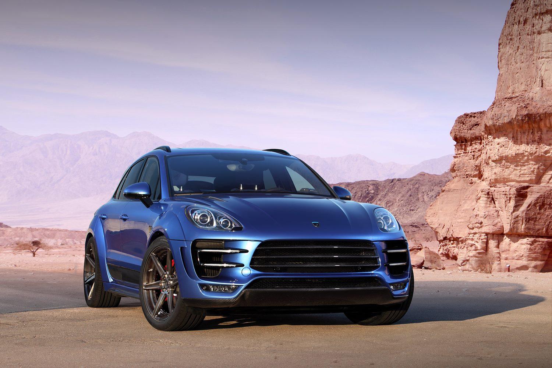 New Porsche Macan Ursa Tune By Russia S Topcar Carscoops