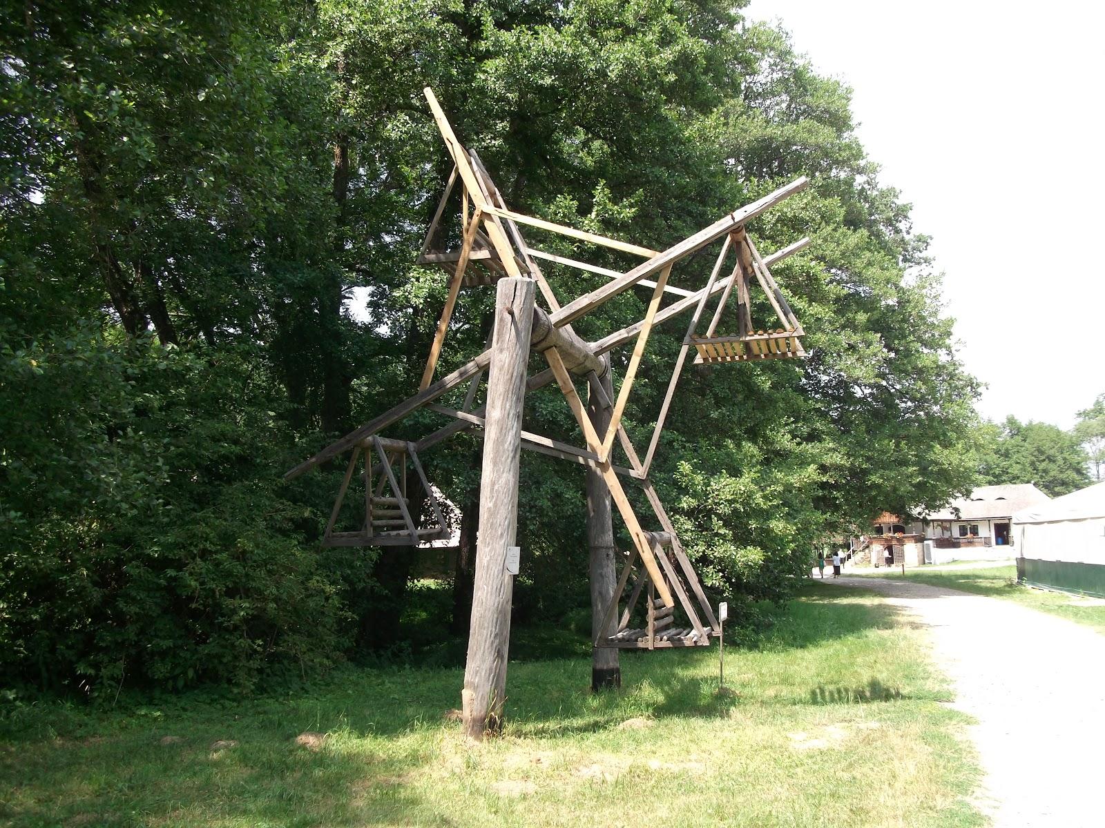 Sibiu glimpses village museum swing for Swingvillage