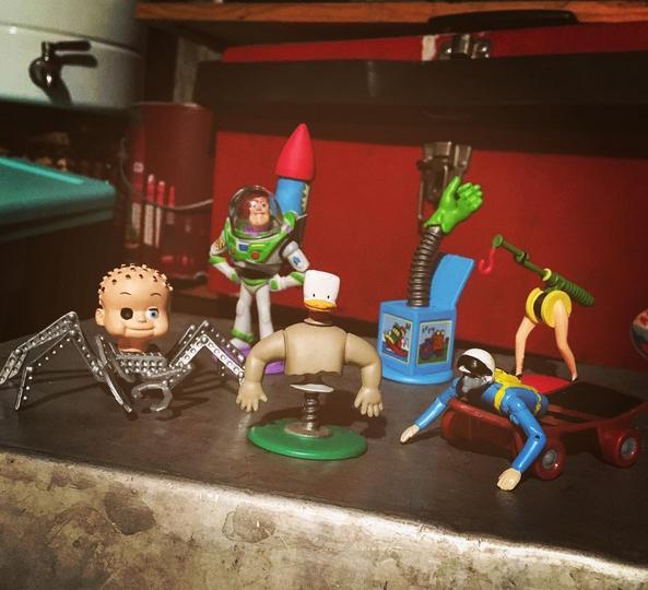 Dan The Pixar Fan Toy Story Sid S Room Figure Gift Pack