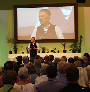 Toby Buckland at BBC Gardeners' World Live 2015 - just round the corner from our stand