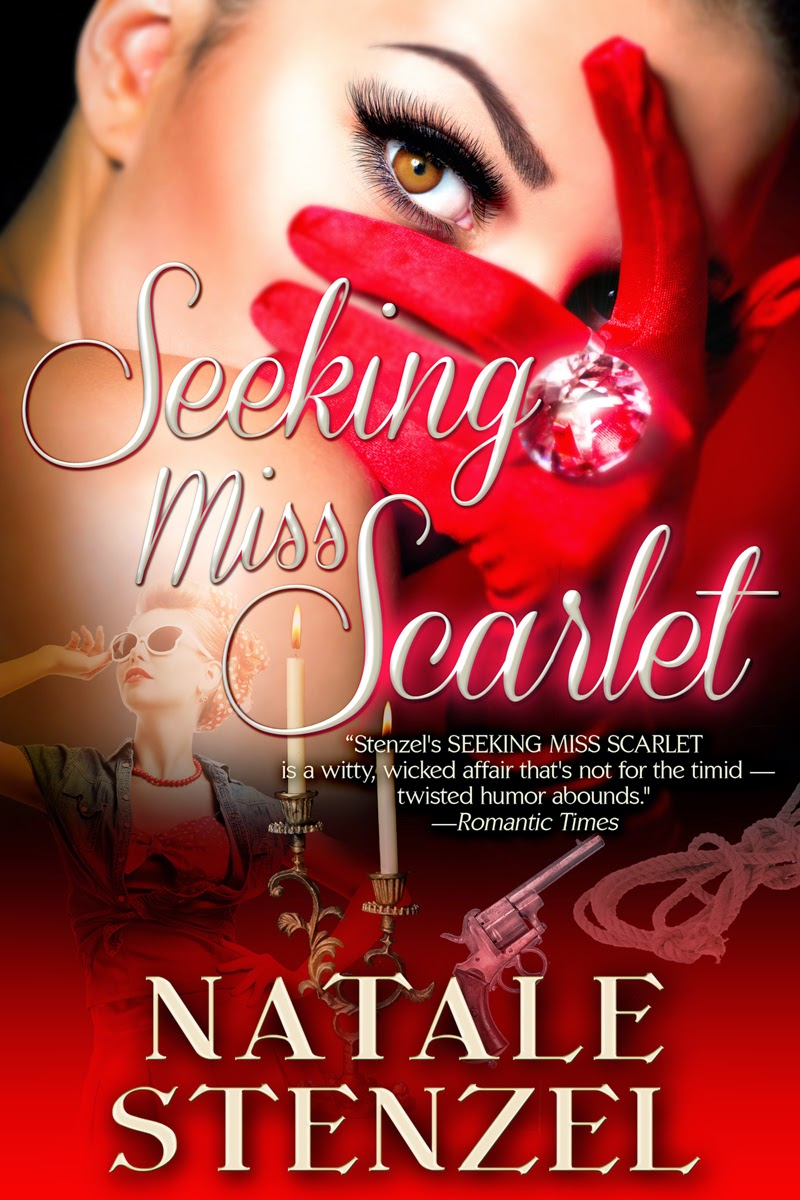 http://www.amazon.com/Seeking-Miss-Scarlet-Natale-Stenzel-ebook/dp/B00UEUAJSY/ref=sr_1_2?ie=UTF8&qid=1426359618&sr=8-2&keywords=natale+stenzel