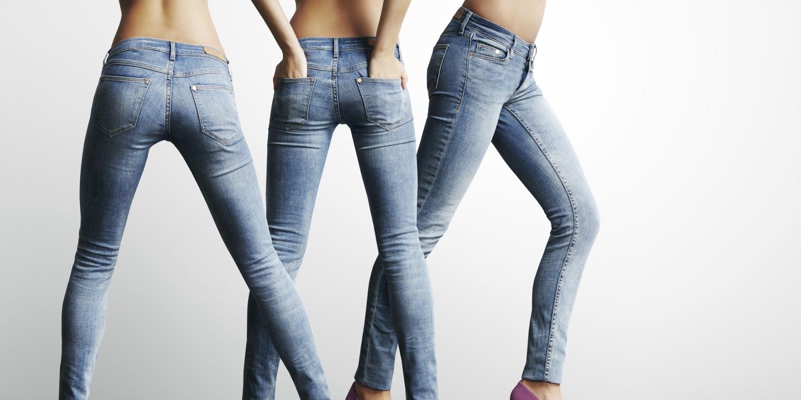 Как правильно должны сидеть джинсы на девушке фото