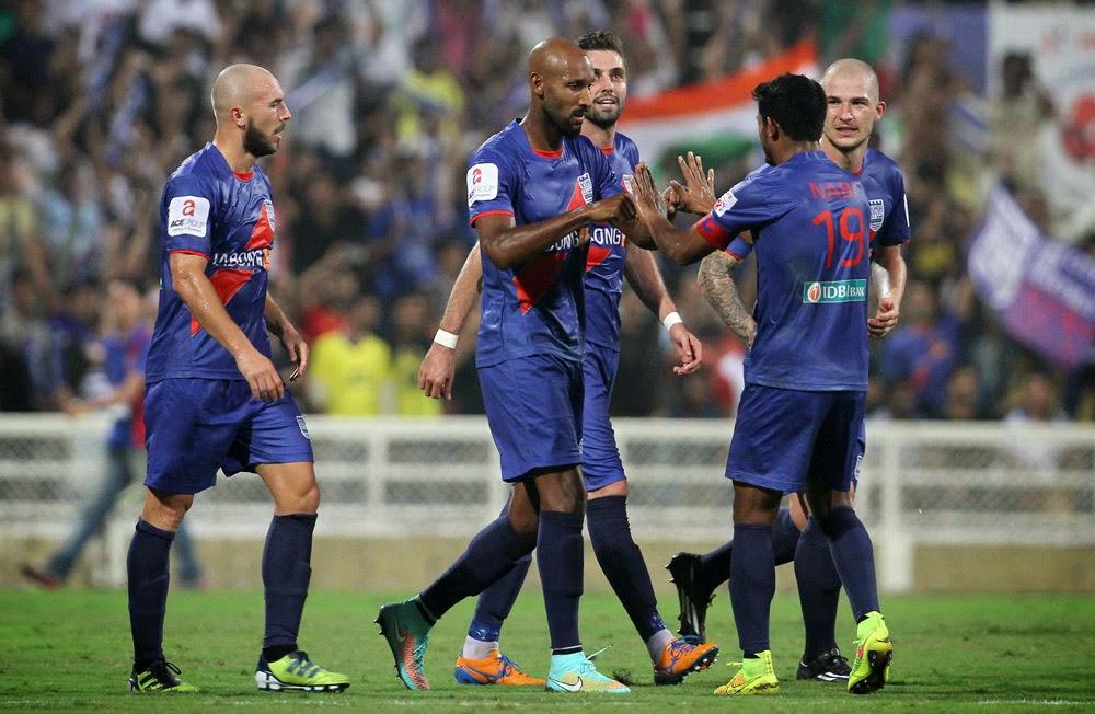 Mumbai City FC beat Kerala Blasters FC