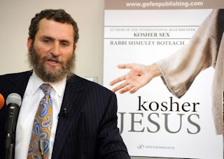 Rabbi Shmuley Boteach and Michael Brown(believer in Jesus),both Jewish,in Sid Roth&#8217;s (a Jewish believer in Jesus)Program &#8220;It&#8217;s Supernatural&#8221;