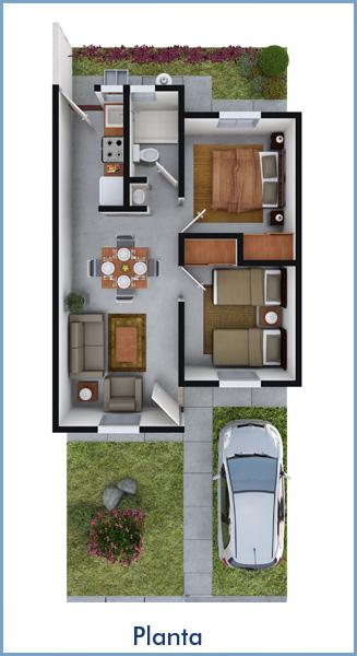 Planos de casas y plantas arquitect nicas de casas y for Casas una planta