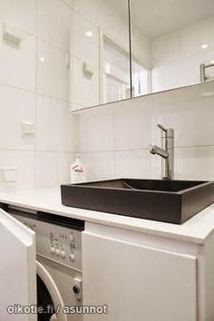 Planos low cost la lavadora en el ba o the washer in - Lavadora en el bano ...