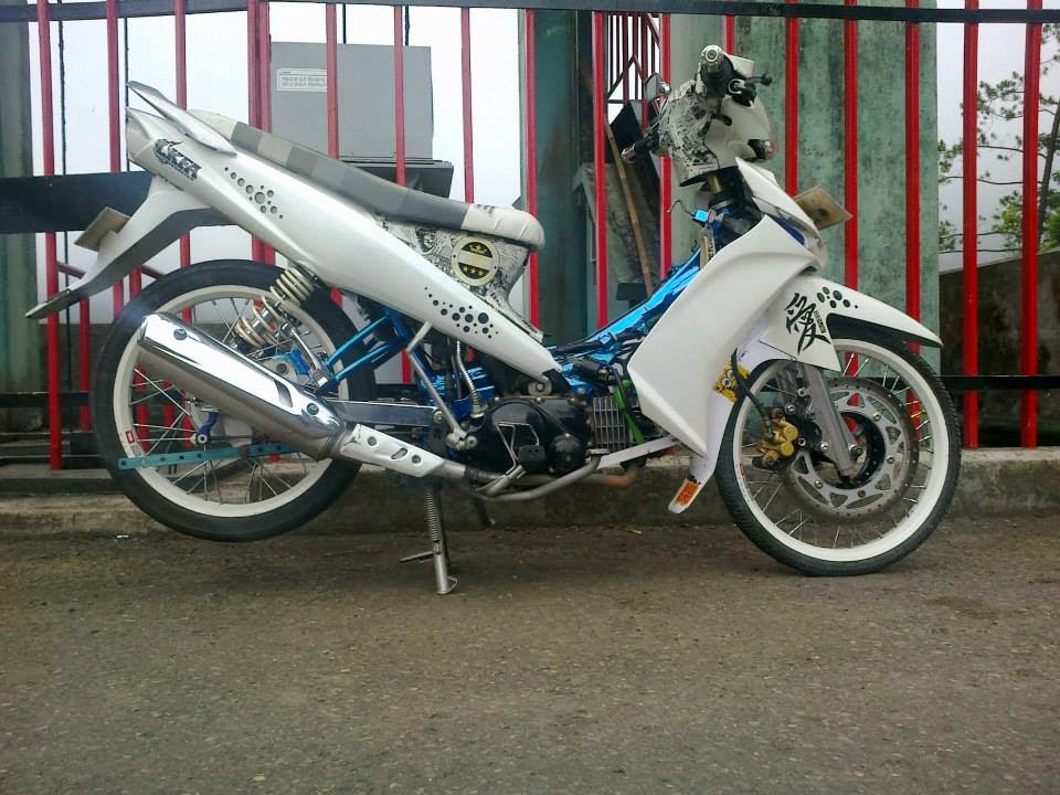 Modif Striping Yamaha Vega Zr