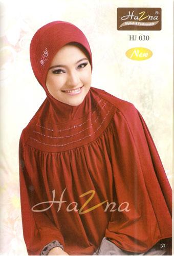 Jilbab Murah Hazna HJ 030 Online