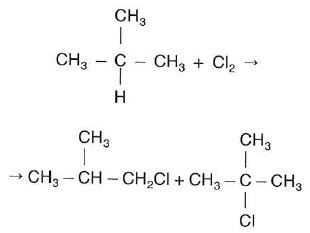 1-clorometilpropano y 2-clorometilpropano