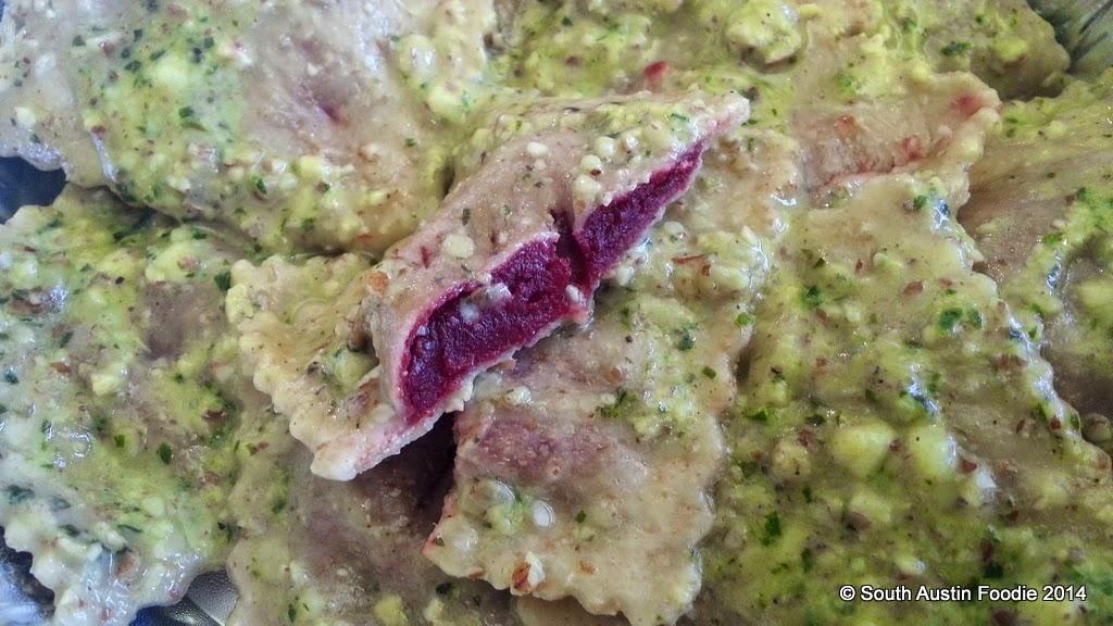 Regal Ravioli beet ravioli