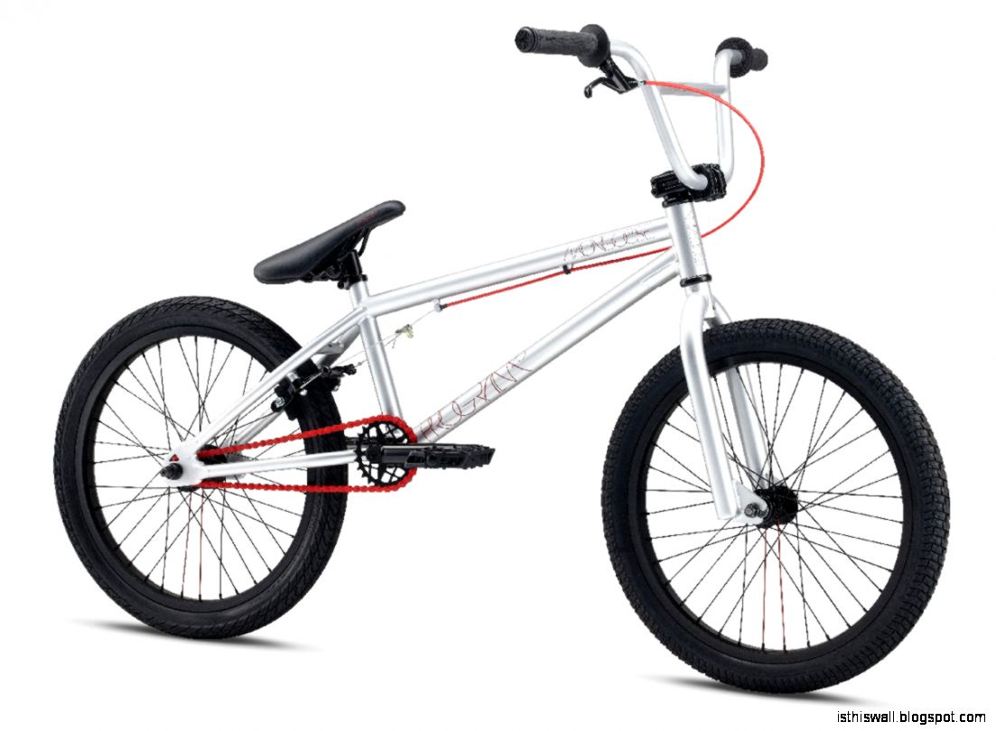 Red Mongoose BMX Bike