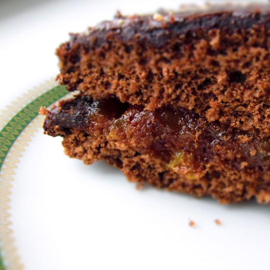 Chocolate cake, кухня, бисквит в СВЧ