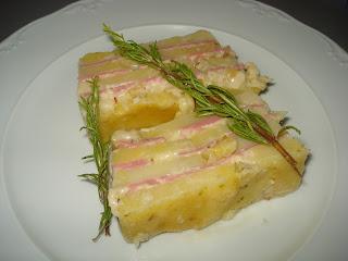 Recetillas de ner: pastel de patata y mortadela