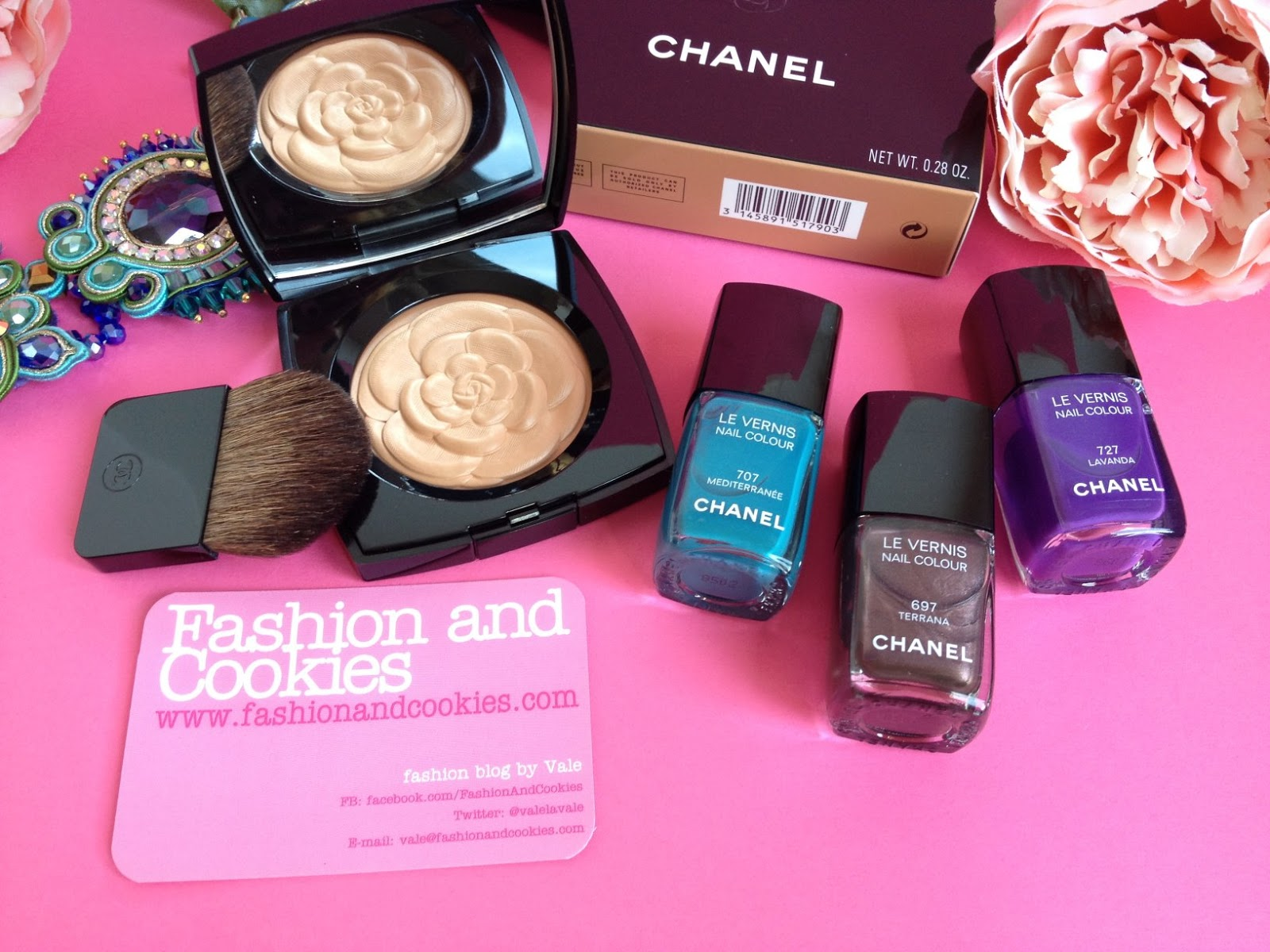 Chanel summer 2015 collection Mediterranee, Chanel summer makeup collection on Fashion and Cookies fashion blog