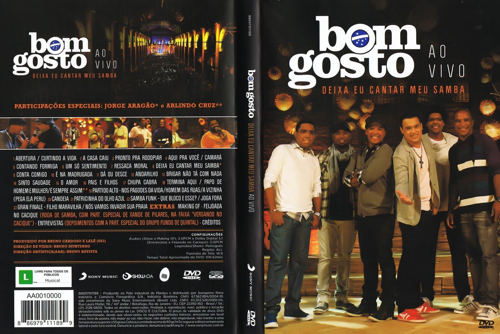 Bom Gosto Ao Vivo Deixa Eu Cantar Meu Samba DVDRip XviD (2011) Bom 2BGosto 2B  2BDixa 2BEu 2BCantar 2BMeu 2BSamba 2B  2BAo 2BVivo