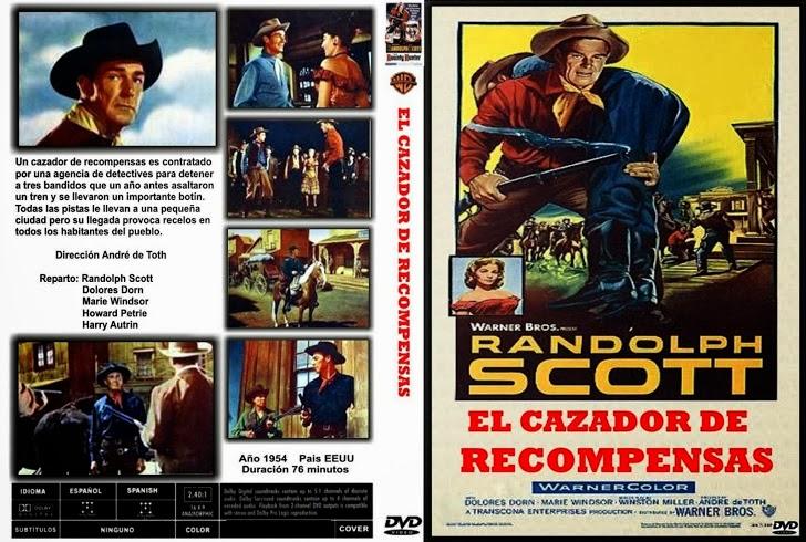 El cazador de recompensas ( 1954 ) Español Descargar y ver Online Gratis