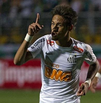 Neymar lidera con dos golazos una remontada del Santos