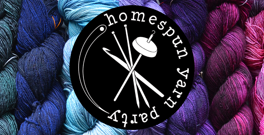 Homespun Yarn Party - Savage, MD - March 24, 2019