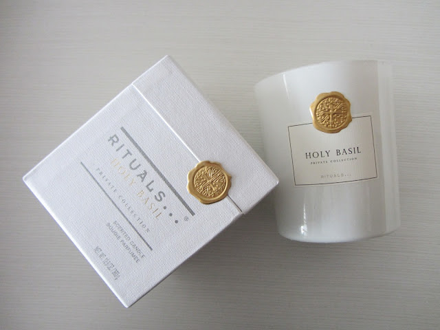 holy basil private candle collection