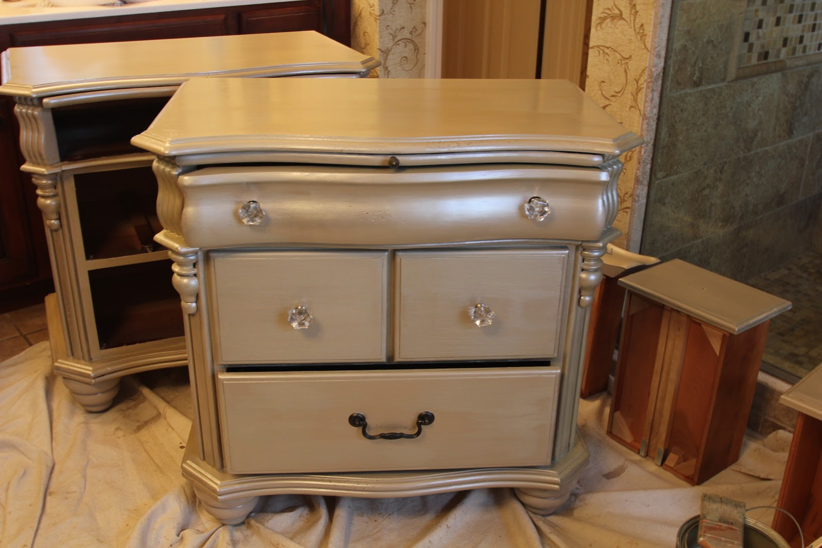 Constructive Therapy Brilliant Metals Refinished Furniture