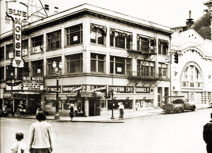 The Blue Mouse And Other Theaters Of 1940s Portland