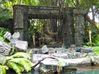 Rafts to Tarzan's Treehouse Hong Kong Disneyland