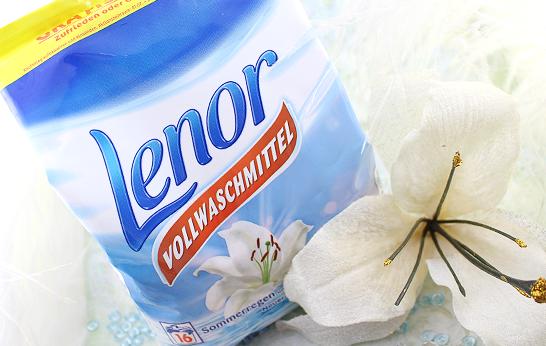 Lenor Vollwaschmittel - Sommerregen & Weisse Lilie