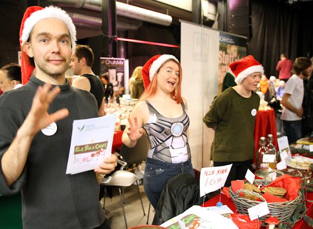 Vegansk Julefestival 2015 Norsk Vegansamfunn