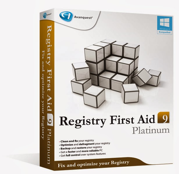Registry First Aid Platinum 9.3.0.2207 + Serial