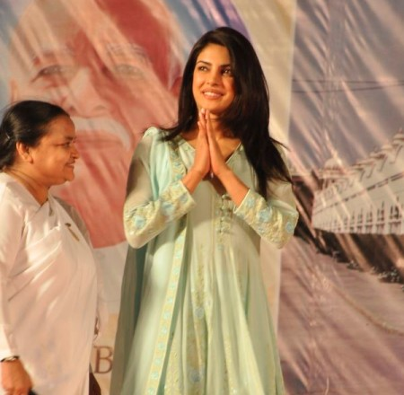 Priyanka Chopra 1 - Priyanka Chopra graces the 75th year celebrations of Brahma Kumari