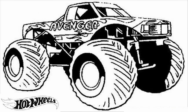 Hot Wheels Coloring Pages 85