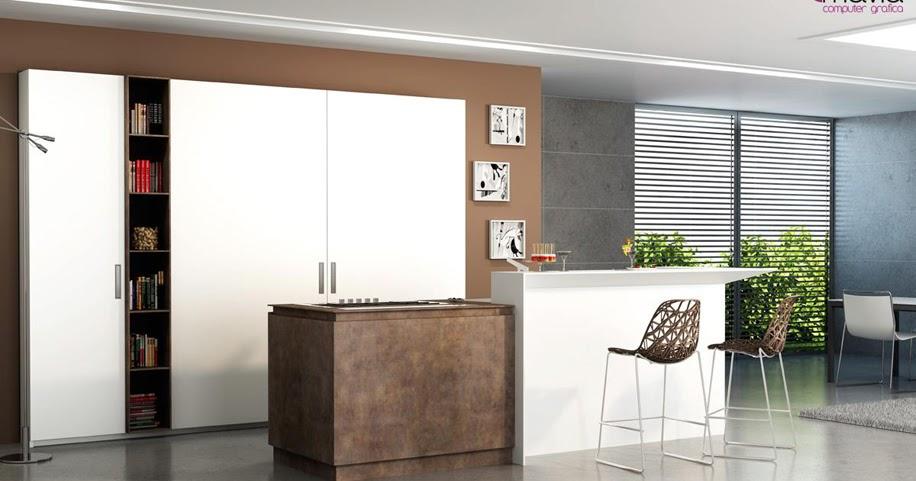 Arredamento di interni rendering cucine 3d arredamento di for Siti arredamento interni
