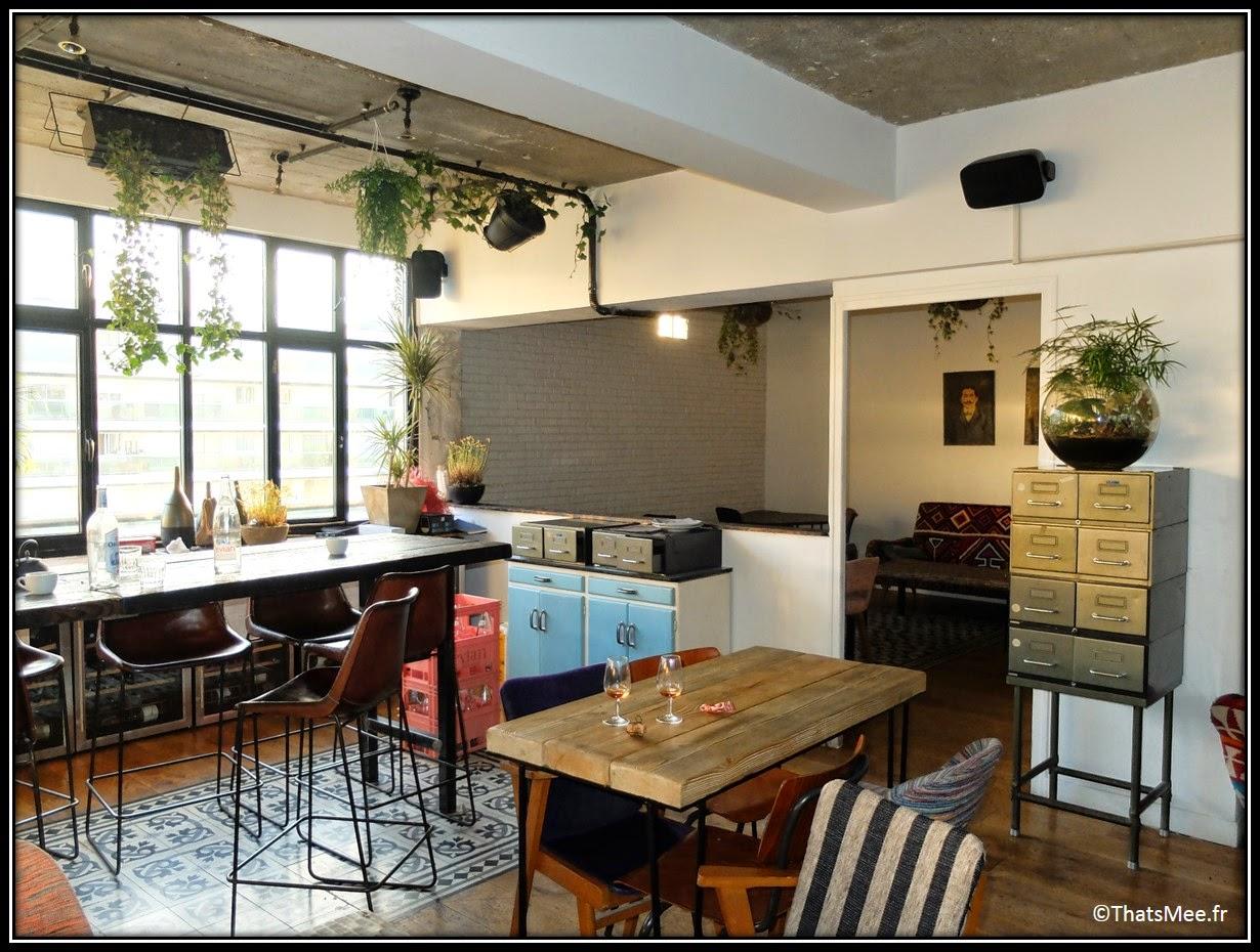 bar perchoir hipster rooftop Paris vue,  Perchoir sur toits de Paris restaurant cosy appartement loft déco design, Perchoir cidres perchés soirée privee Paris 11eme bar cocktails