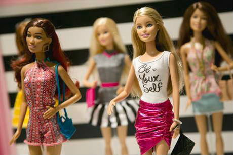 Barbie dolls new design Barbie three new body types