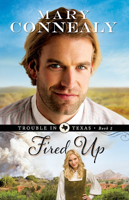 book review of Fired Up by Mary Connealy (Bethany House) by papertapepins