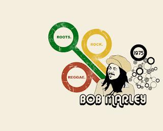 Bob Marley Roots Rock Reggae Design HD Wallpaper