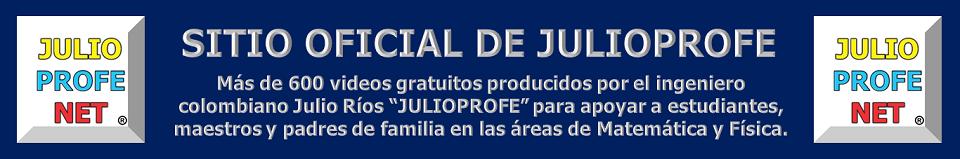 Sitio Oficial de JULIOPROFE