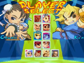 Pocket Fighter Mugen personagens jogos