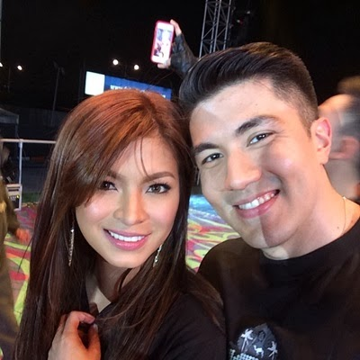 Angel Locsin and Luis Manzano in Dubai