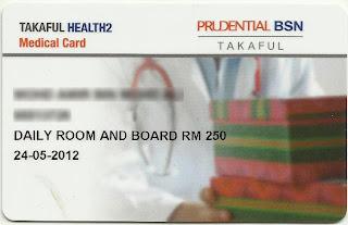 PruBsn Takaful health 2
